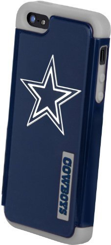 Forever Collectibles - (NFL) Dallas Cowboys - Dual Hybrid 2-Piece TPU Case for Apple iPhone 5/5s