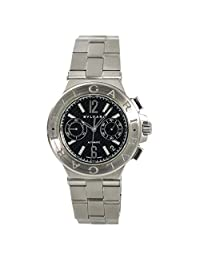 Bvlgari Diagono Automatic-self-Wind Male Watch DG40SCH (Certified Pre-Owned)