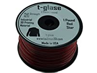 1.75mm Taulman Red T-Glase 1lb (.45kg) 3D Printer Filament by Taulman3D
