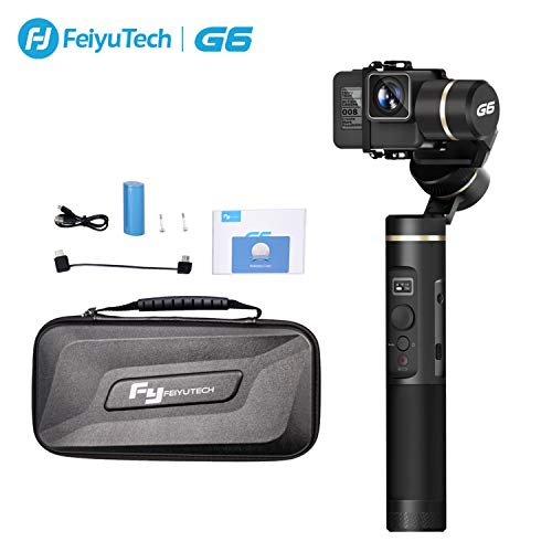 G6 3-Axis Camera Gimbal Splash-Proof Handheld Stabilizer with WiFi Bluetooth