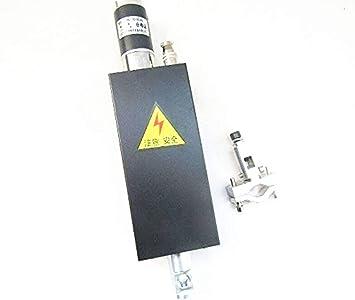 DC24V Cutting Torch Holder Plasma Flame CNC Cutting Machine Z-axis Lifter 100mm