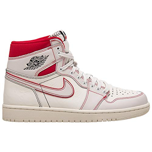 Nike AIR Jordan 1 Retro HIGH OG Sail/Black-Phantom-Gym Red 555088-160 Size US 15 (Nike Air Jordan 1 Retro High Og)