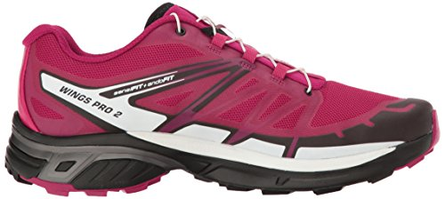 morado Scarpe Viola 2 Trail bianco nero Da 000 black Pro Salomon Wings Running Donna W white sangria zTU77q