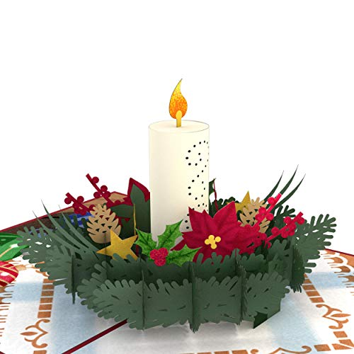 Lovepop Night Before Christmas Candle Pop Up Card - Greeting Card, 3D Cards, Christmas Cards, Pop Up Cards Christmas, 3D Card Christmas (Of Christmas Tradition Cards)