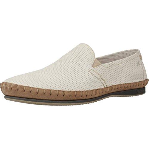 Fluchos Mocasines Para Hombre, Color Blanco, Marca, Modelo Mocasines Para Hombre 8674 Blanco Blanco