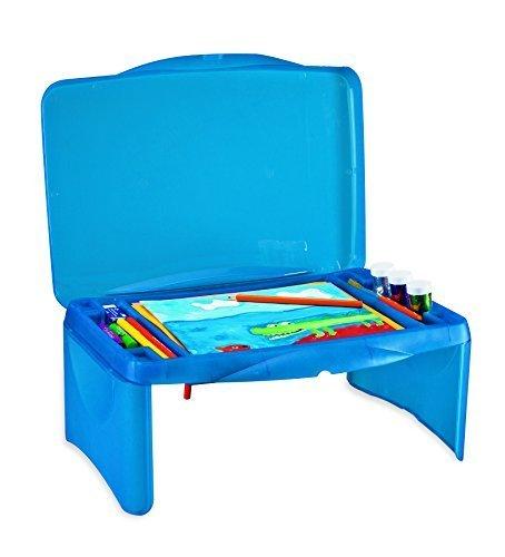 Collapsible Folding Lap Desk Blue product image