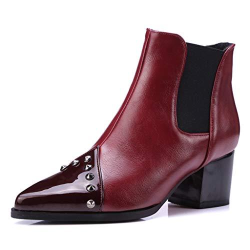 Women's Short Ankle Rain Boots Ladies Classic Anti Slip Elastic Type Slip On Waterproof Chelsea Boots