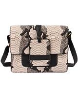 Mellow World Amazon, Women's Beautiful Unique Snake Print Crossbody Handbag