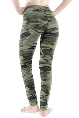 Women's Army Commando Military Print Camouflage Jeggings Leggings ONE SIZE 41bjXt2dGBL