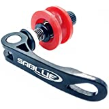 SABLUE Bicycle Bike Chain Keeper Holder Dummy Sleeping Hub Tool (01 Black)