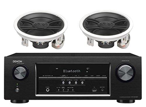 Denon-52-Channel-700-Watt-Full-4K-Ultra-HD-Bluetooth-AV-Home-Theater-Receiver-Yamaha-High-Performance-3-Way-Surround-Sound-in-ceiling-Speaker-System-Pair