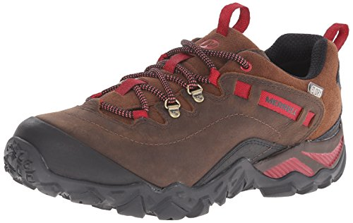 Merrell Women's Chameleon Shift Traveler Waterproof Hiking Shoe, Cafe, 8 M US