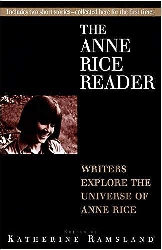 Descargar En Español Utorrent Anne Rice Reader Archivos PDF