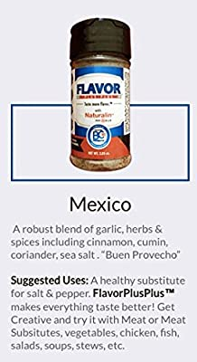 Flavorplusplus Mexico - World's first and only ready to eat gourmet seasonings with Prebiotics, Probiotics, Antioxidants with Bold Flavor - Mexico