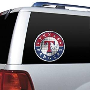 MLB Texas Rangers Die Cut Window Film Die Cut Logo Window Film