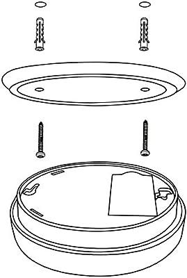 Pila de Litio Larga duraci/ón de 9V DIN EN 14604 1x Nemaxx SP10-NF Detector de Humo