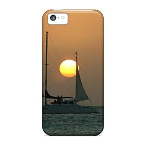DHtlnXE6520wufCf Case Cover Protector For Iphone 5c Sunset In Aruba Case