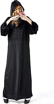 Shishiboss Disfraz de Halloween para Adulto, Disfraz de Bruja ...