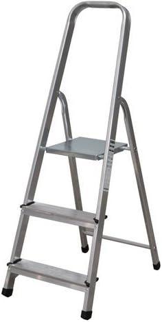 NAWA Escalera Plegable 3 Peldaños de Aluminio. Escadote 3 Degraus ...