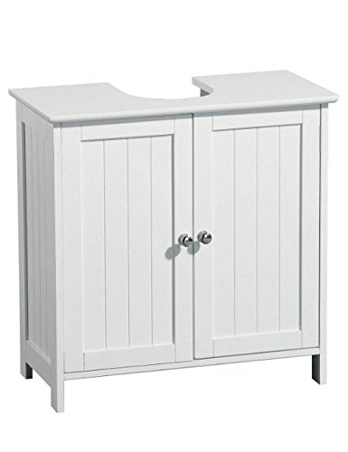 2 Door - Under Sink Basin Storage Bathroom Cabinet Elito Home & Garden