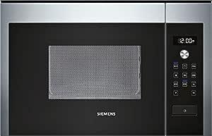 Siemens HF15M564 - Microondas (1270W, 220-230V, 50 Hz, 59.4 cm, 31.9 cm, 38.2 cm) Negro, Acero inoxidable