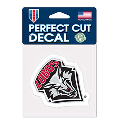 4 x 4 WinCraft NCAA University of New Mexico Perfect Cut Color Decal