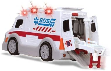 gros camion ambulance jouet