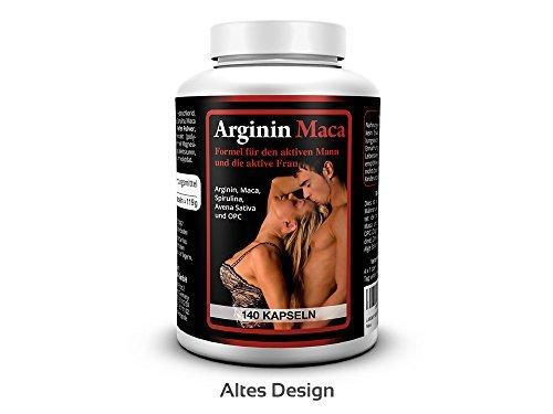 4 opinioni per L-ARGININA 1500 mg PLUS MACA ORO 3500 mg