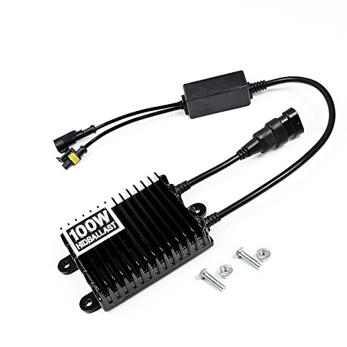 100W AC Xenon HID Ballast Conversion Kit H1 H3 H4 H7 H8 H9 H10 H11 H13 9004 9005 9006 9007 Bus Truck Trailer Tractor Engineering