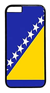 ACESR Bosnia And Herzegovina Flag iPhone 6 Hard Case PC - Black, Back Cover Case for Apple iPhone 6(4.7 inch)