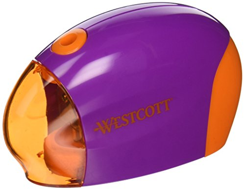 Westcott Battery Powered Pencil Sharpener, Assorted Colors(14074)