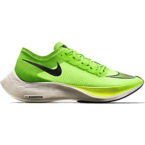 Nike ZoomX Vaporfly Next% Running Shoes (M6.0/W7.5, Green/Black) (Nike Air Zoom Total 90 Iii For Sale)