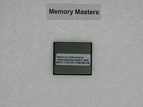 - MEM1800-64U128CF 64MB CompactFlash Card for Cisco 1800 Series(MemoryMasters)