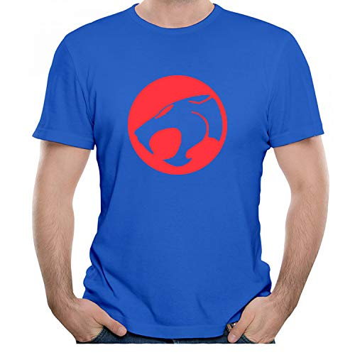 Eye-Catching Men's Thundercats Blue and Red Logo T-shirt, S to 3XL