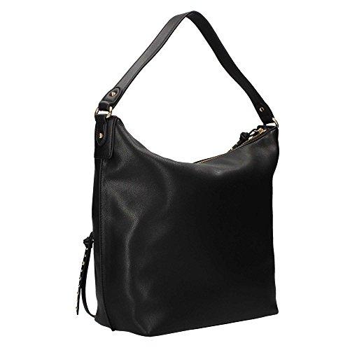 Liu Jo M Monospalla Dakota - Shoppers y bolsos de hombro Mujer Negro (Nero)