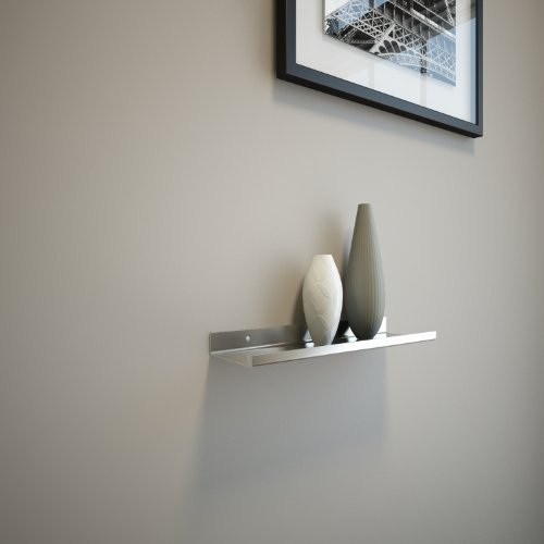Stainless Steel Floating Ledge for Photo and Picture 3,5