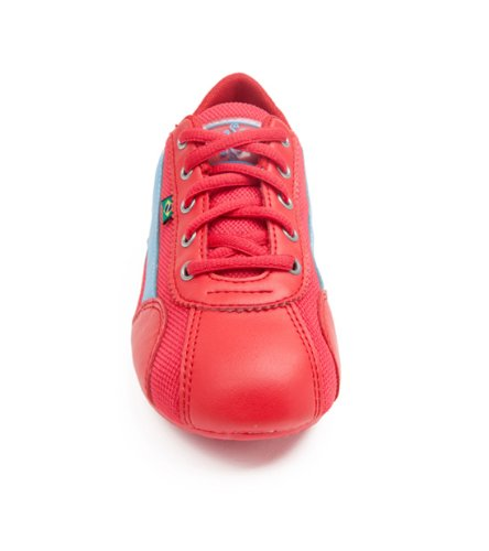 Chaussures De Danse Féminines Inspirées De La Rio Sole - Rouge Et Bleu