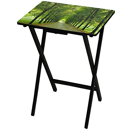 Oriental Furniture Path of Life TV Tray by ORIENTAL FURNITURE