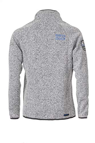 Grey Mesh Sweat large Giacca Farka 2x China Small Zip Uomo Full Northvalley UwH8qT7T