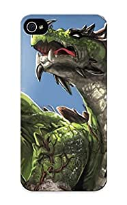 Crazinesswith Brand New Defender Case For Iphone 5/5s (green Dragon) / Christmas's Gift