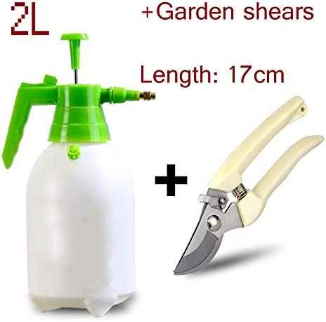 噴霧器ハンドは、加圧されたマニュアル加圧水噴霧器ガーデン芝生工場2L用ガンスプリンクラーツールスプレー開催しました