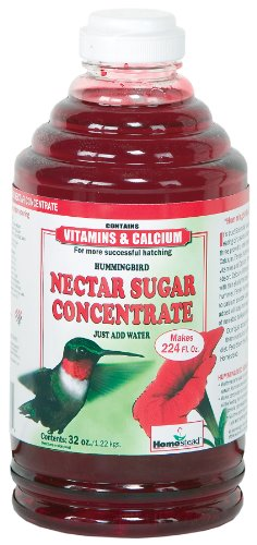 Homestead 32 oz Hummingbird Red Nectar Concentrate (Liquid) – 4371, My Pet Supplies