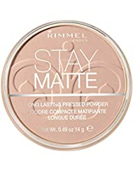 Rimmel Stay Matte Pressed Powder Natural 0.49 Fluid...