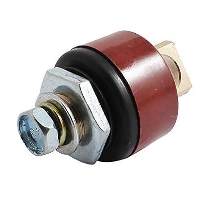 eDealMax 100-250A montaje rápido rojo soldador soldadura conector 10-25mm2