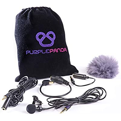 purple-panda-lavalier-lapel-microphone