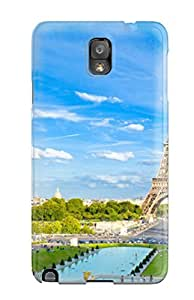 Cute Tpu CaseyKBrown Amazing Eiffel Tower Paris Case Cover For Galaxy Note 3