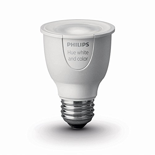 Philips 456673 Hue White and Color Ambiance PAR16 Dimmable LED Smart Spot Light (Works with Alexa, Apple HomeKit, and Google Assistant) (Certified Refurbished)