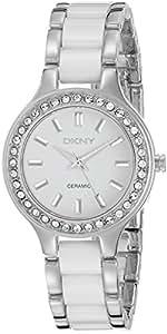 DKNY Women's NY8139 CHAMBERS White Watch