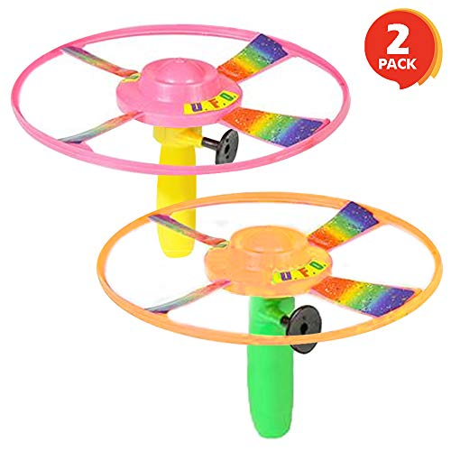 ArtCreativity Pull Cord UFO Flying Saucers (Set of for sale  Delivered anywhere in USA