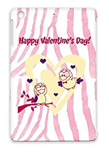 Valentine's Day I Love You Valentines Day Holidays Occasions Yellow For Ipad Mini Scratch-free Case Cover